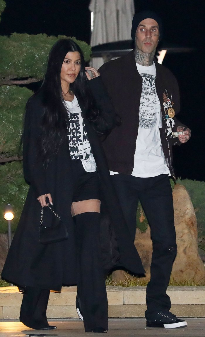 Travis Barker Tags Kourtney in Steamy Post: 'I Dream About Sex With You'