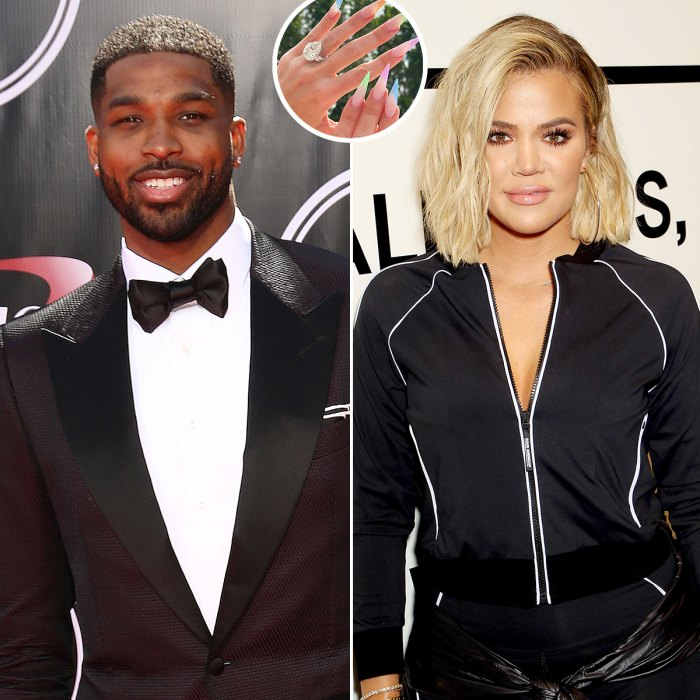 Tristan Thompson, Khloe Kardashian Spark Engagement Rumors Again