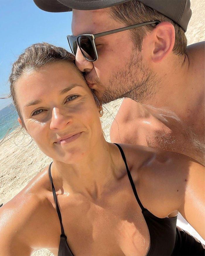 Very Happy Together How Danica Patrick Met Carter Comstock