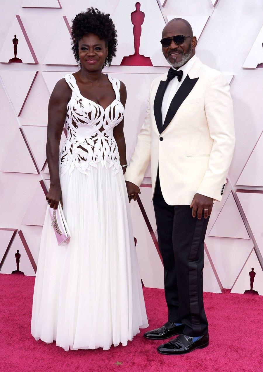 Viola Davis and Julius Tennon Couples Dazzle at Oscars 2021
