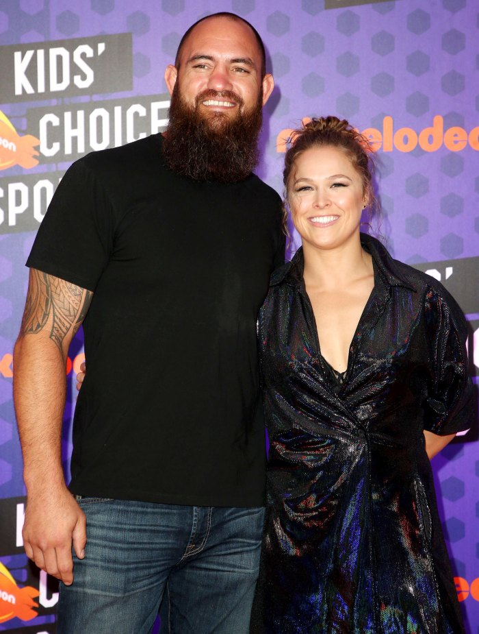 WWE Ronda Rousey Is Pregnant Expecting 1st Child With Husband Travis Browne