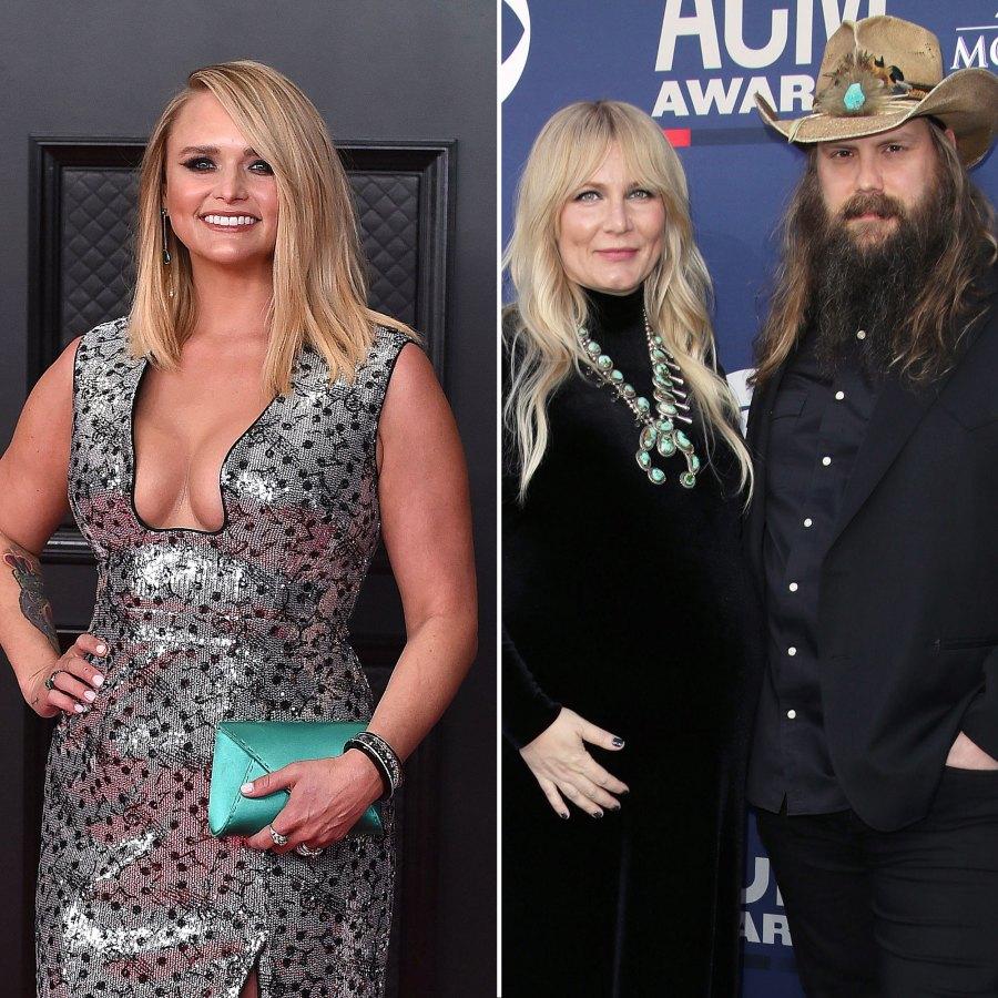 Why Miranda Lambert Filled in for Chris Stapleton Wife at the ACM Awards 2021