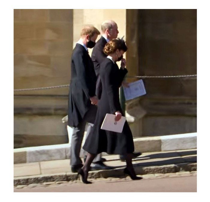 Prince Harry Prince William Duchess Kate Chose to Leave Prince Philip Funeral Together