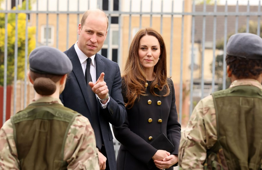 William Kate Good Spirits 1st Engagement Since Philips Death