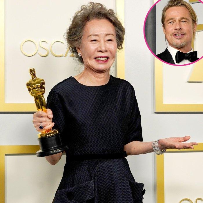 La ganadora de los Oscar 2021 Yuh-Jung Youn tuvo la mejor respuesta cuando se le preguntó a qué huele Brad Pitt