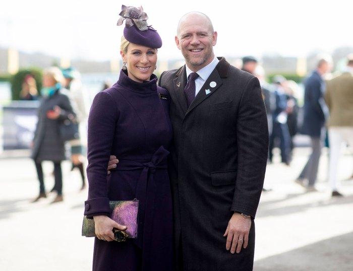 Zara Tindall Mike Tindall Prince Philip Funeral Perfect Goodbye 2