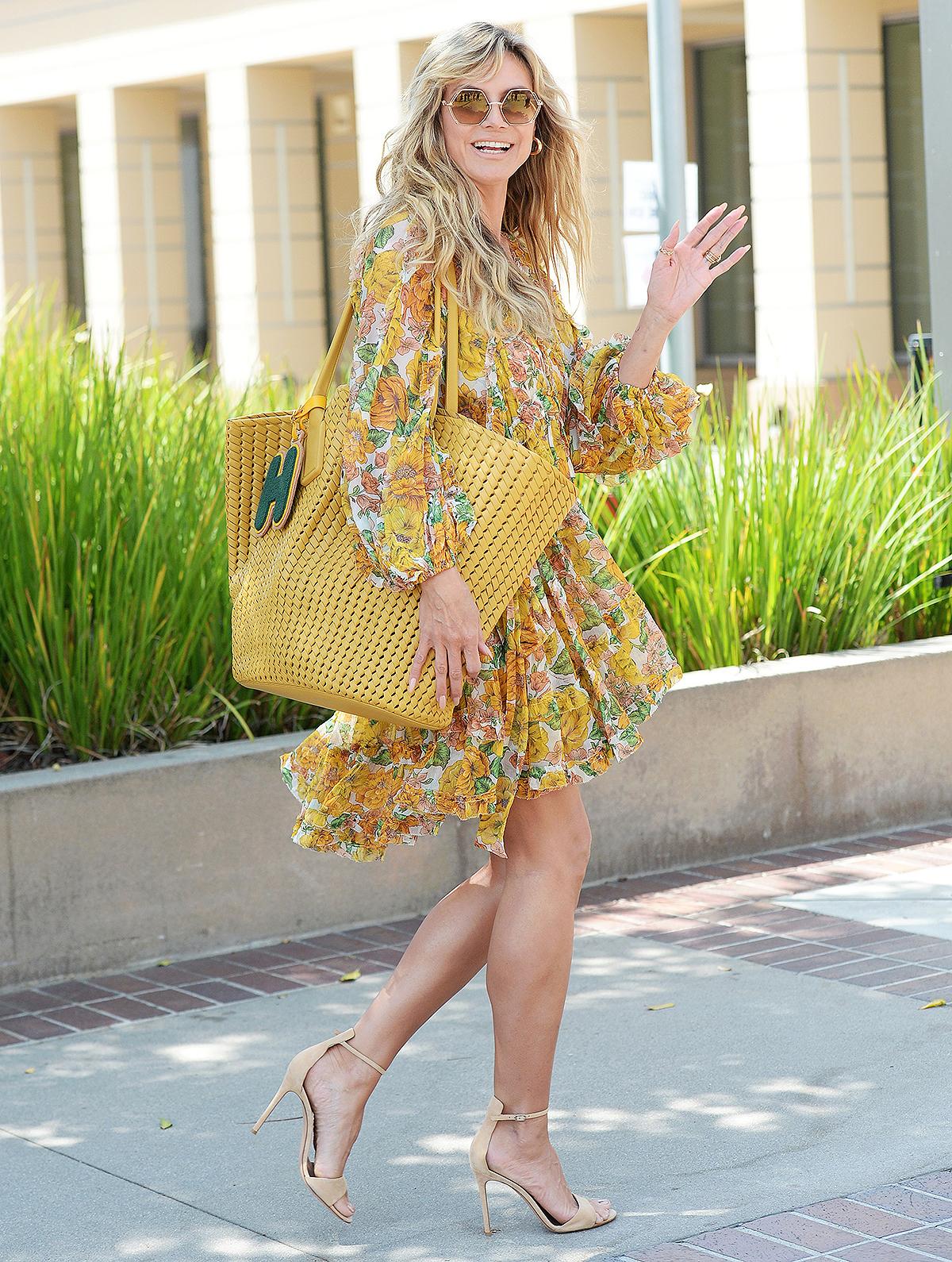 heidi-klum-yellow-dress1