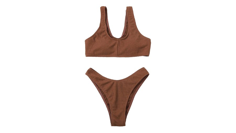 SOLY HUX Scoop Neck Bikini 2-Piece Swimsuit