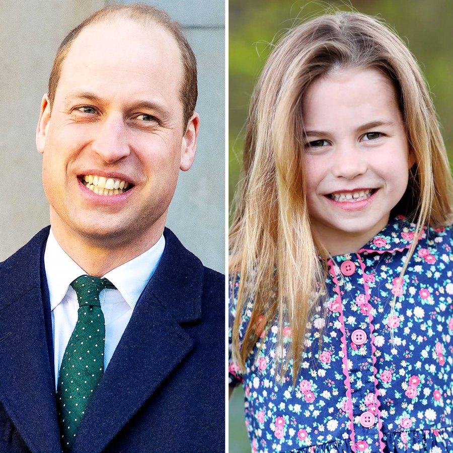 6 Going 16 Prince William Says Charlotte Tells People Shes Teenager