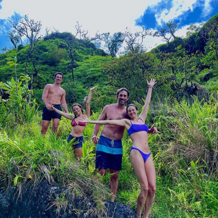 Aaron Rodgers Shailene Woodley tiene una cita doble aventurera en Hawái