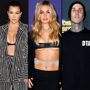 Addison Rae Obsessed With Kourtney Kardashian Travis Barkers Romance