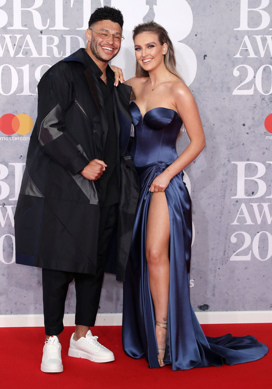 Alex Oxlade-Chamberlain and Perrie Edwards Pregnant First Child
