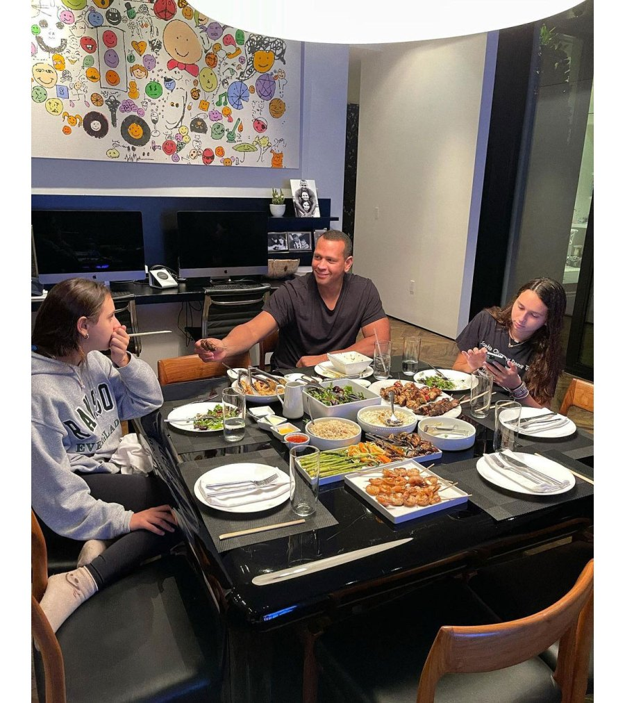 Alex Rodriguez Has Daddy Dinner Date With 2 Daughters Natasha and Ella Amid Jennifer Lopez and Ben Affleck Reunion