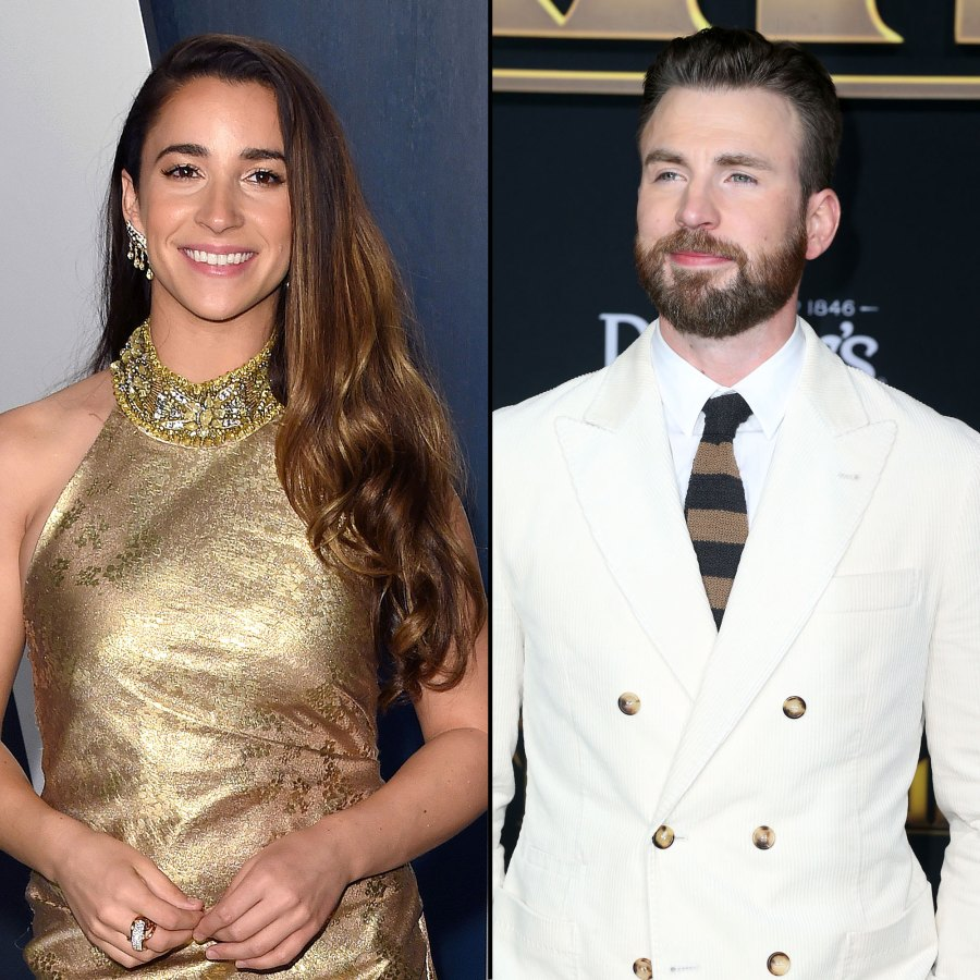 Aly Raisman Has Been Friends With Chris Evans For Years