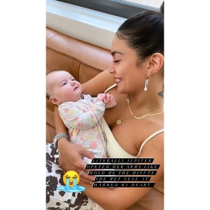 From High School Musical to Motherhood! Ashley Tisdale Shows Baby Jupiter Meeting 'Aunt' Vanessa Hudgens: 'It Warmed My Heart'