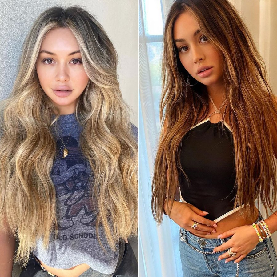 Bachelor's Corinne Olympios Debuts Chocolate Brown Hair: 'The '90s Called'