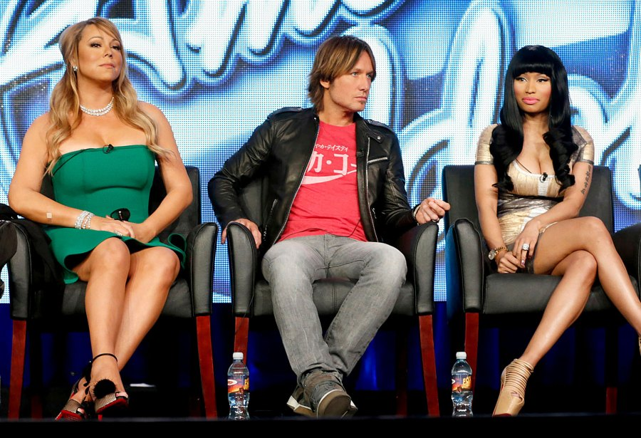 Nicki Minaj and Mariah Carey's Feud Biggest American Idol Scandals Controversies Through Years