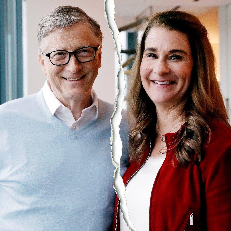 Bill Gates Melinda Gates Celeb Splits 2021