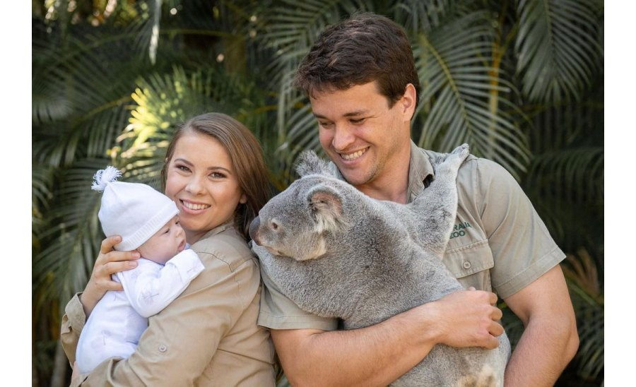 Bindi Irwin Daughter Grace Meeting Animals Koala