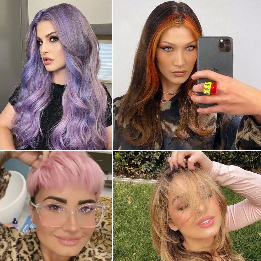 Celebrity Hair Changes of 2021