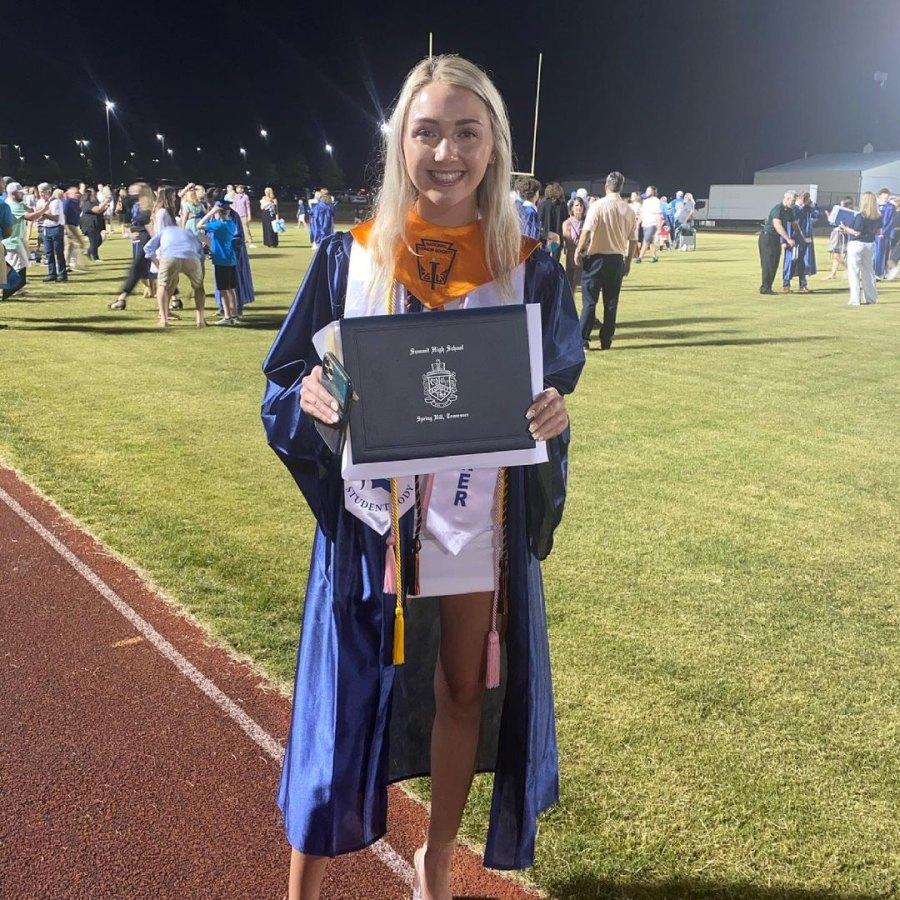 Celebs' Kids Graduate in 2021 Jason Aldean