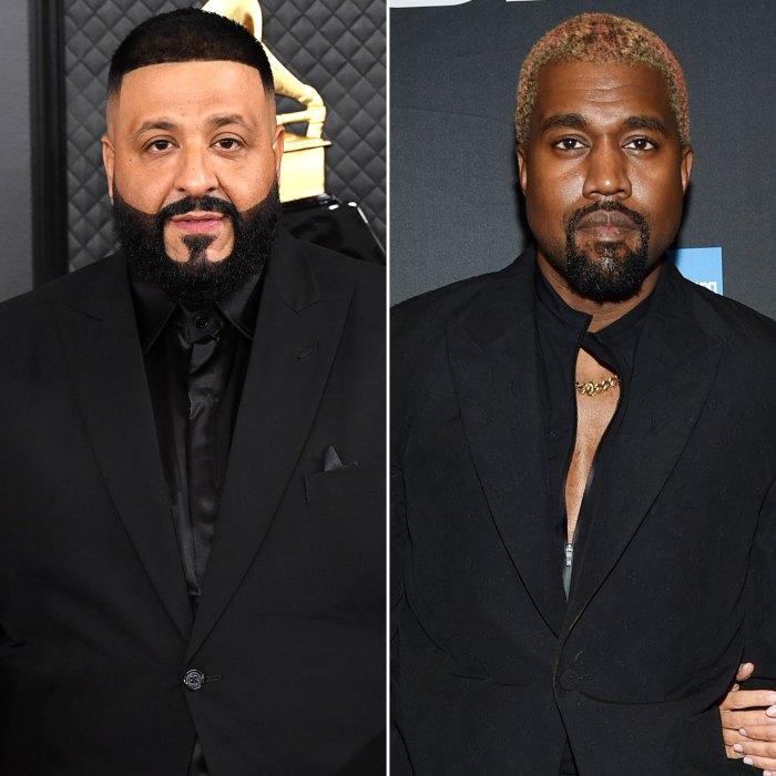 DJ Khaled explica por qué Kanye West llevaba su anillo de bodas durante la vista previa del álbum