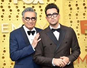 Dan Levy Reacts to 'Schitt's Creek' Fan's False Claim That His Dad Eugene Levy Died