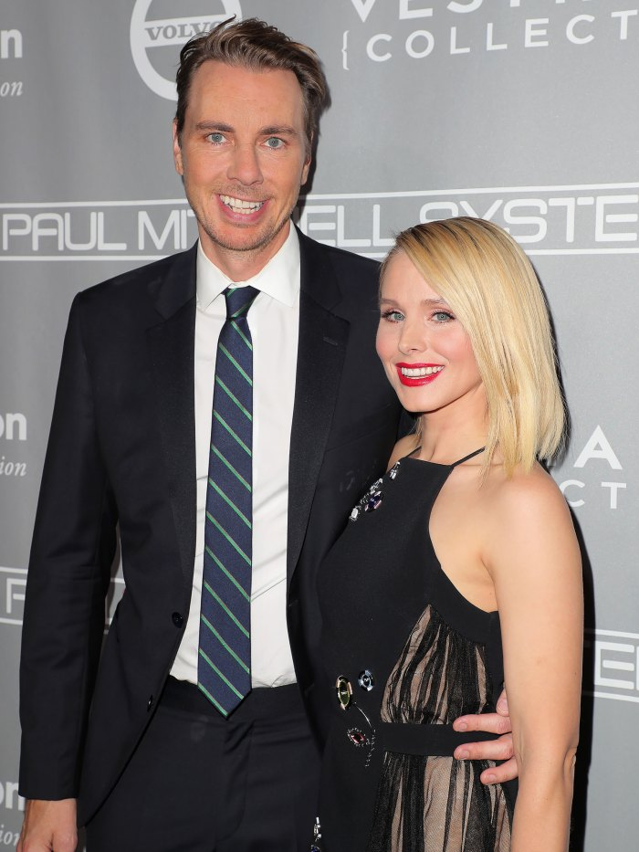 Dax Shepard Posts Photo Of Naked Kristen Bell Doing Yoga