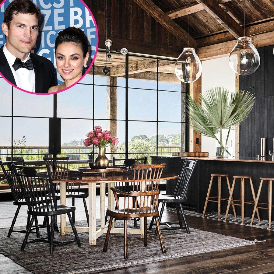 Dream Home Inside Ashton Kutcher Mila Kunis Modern Farmhouse