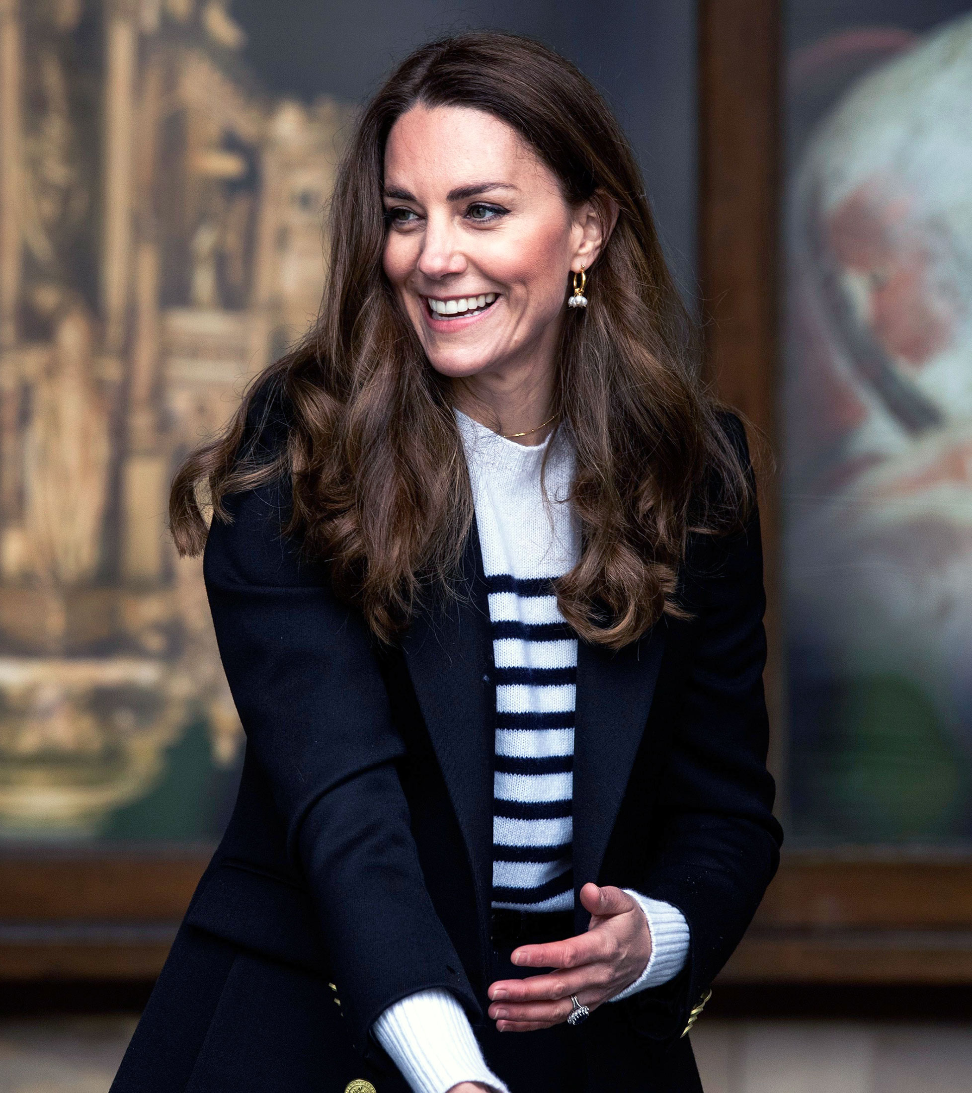 Duchess Kate's Preppy Suit Is a Major Contrast to Her St. Andrews' Student Style