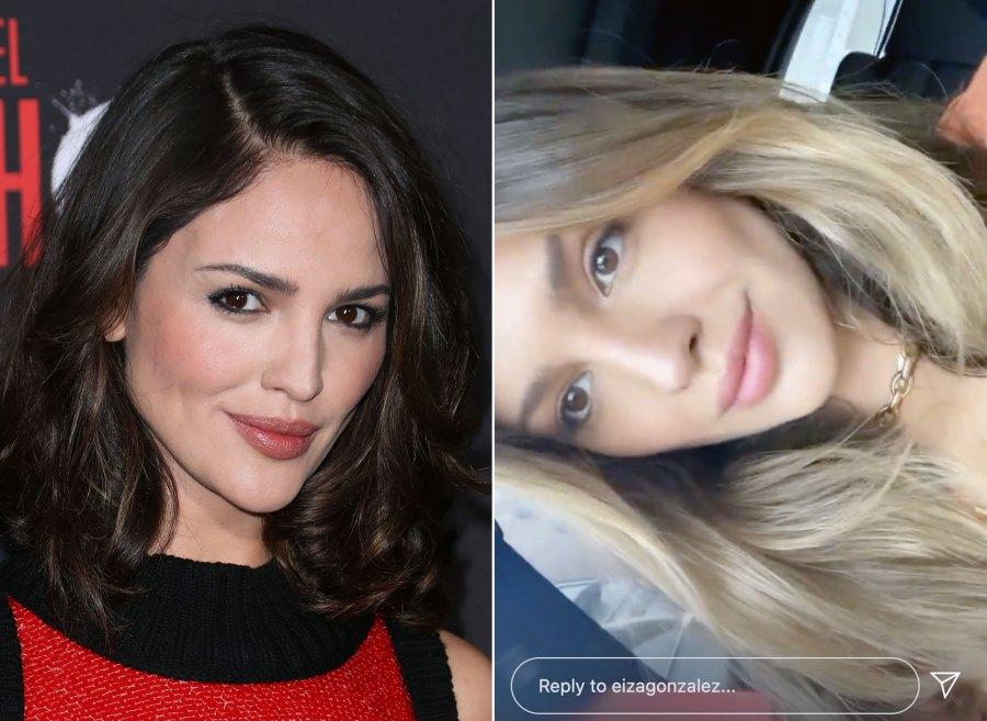 She's Bronde! Eiza Gonzalez Debuts Honey-Hued Hair