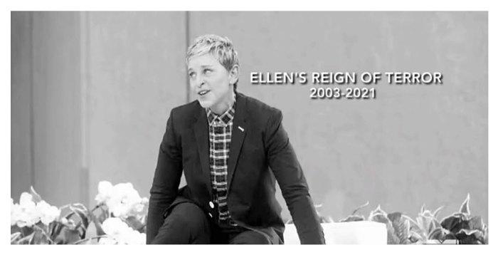 Ellen DeGeneres Reign Terror incluye paquete de parodia in memoriam sin guión