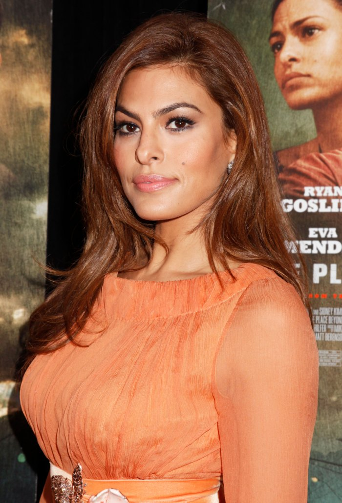 Eva Mendes Wishes She Still Had Her 'Odd' Bone Structure From 20 Years Ago