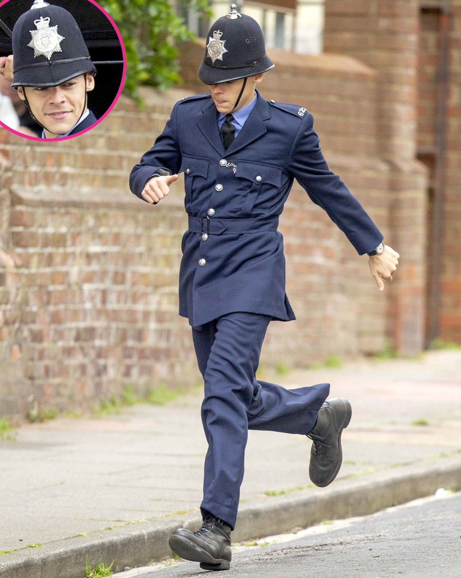 Fans Are Swooning Over Harry Styles Cop Costume