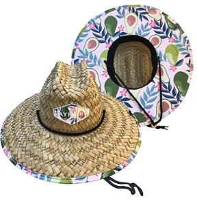 Fayfaire Store Straw Hat for Men and Women   UPF 50+ Sun Hat with Wide Brim