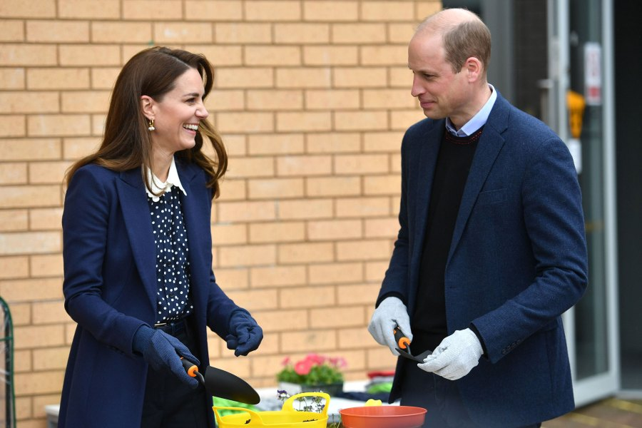 Feature Duchess Kate and Prince William Coordinate Their Outfits to Visit Way Youth Zone