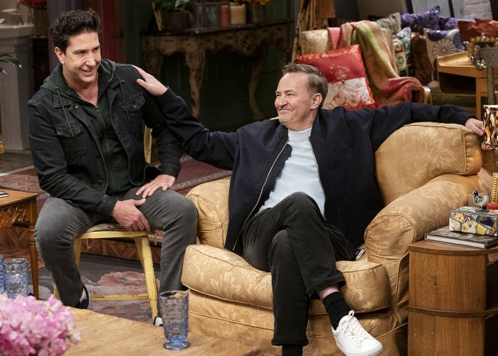 Friends Producer Gives Health Update Matthew Perry After Reunion