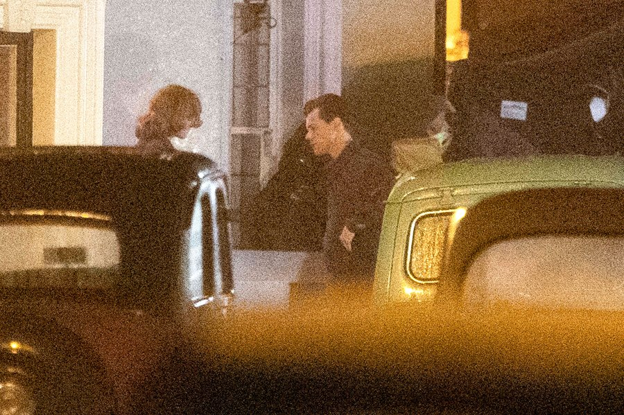 Harry Styles and The Crown Emma Corrin Kiss Passionately on the My Policeman Set 2