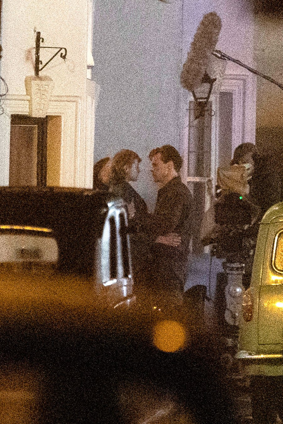 Harry Styles and The Crown Emma Corrin Kiss Passionately on the My Policeman Set 4