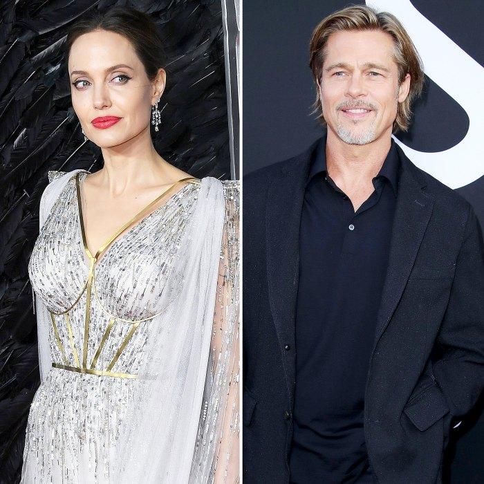 Hot Hollywood Podcast Inside Angelina Jolie Brad Pitt Custody Agreement
