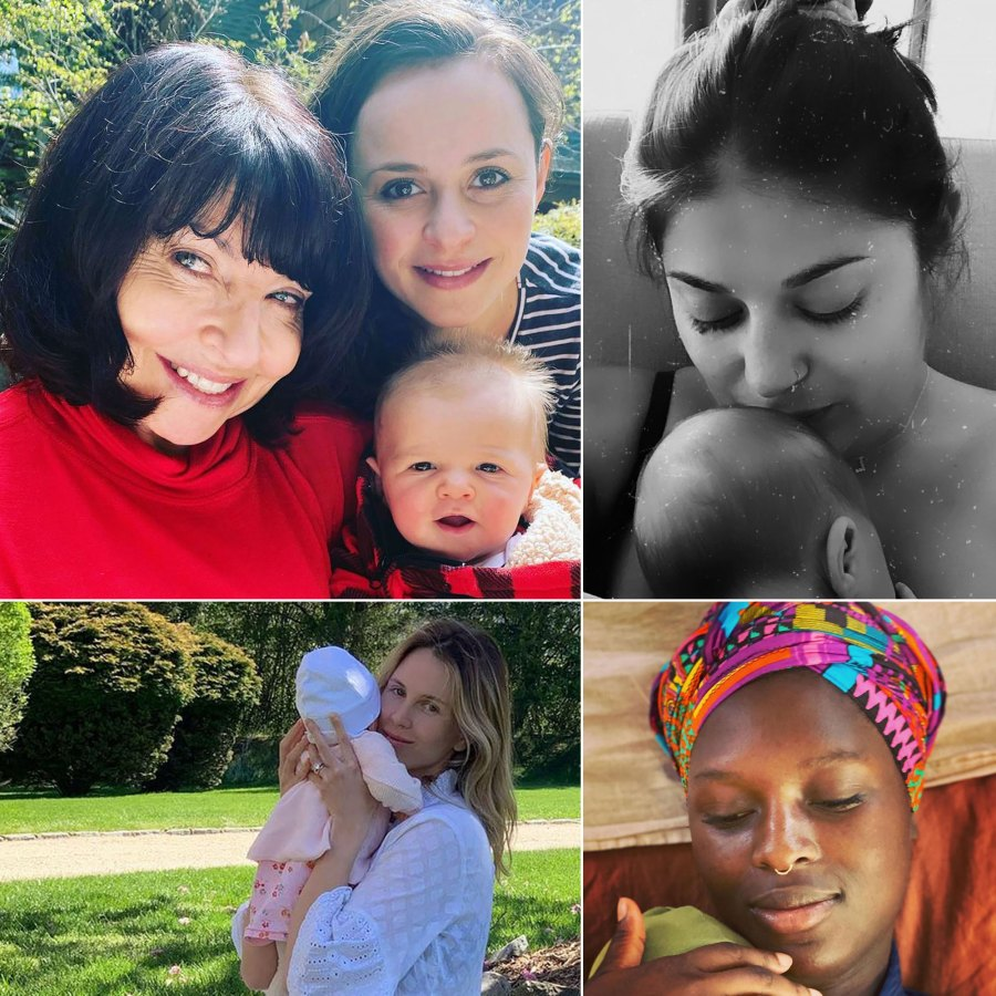 How New Celebrity Moms Have Celebrated Their 1st Mother's Day Over the Years: Photos