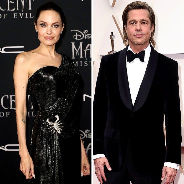 Dentro del estrecho sistema de apoyo de Angelina Jolies en medio de un divorcio muy duro