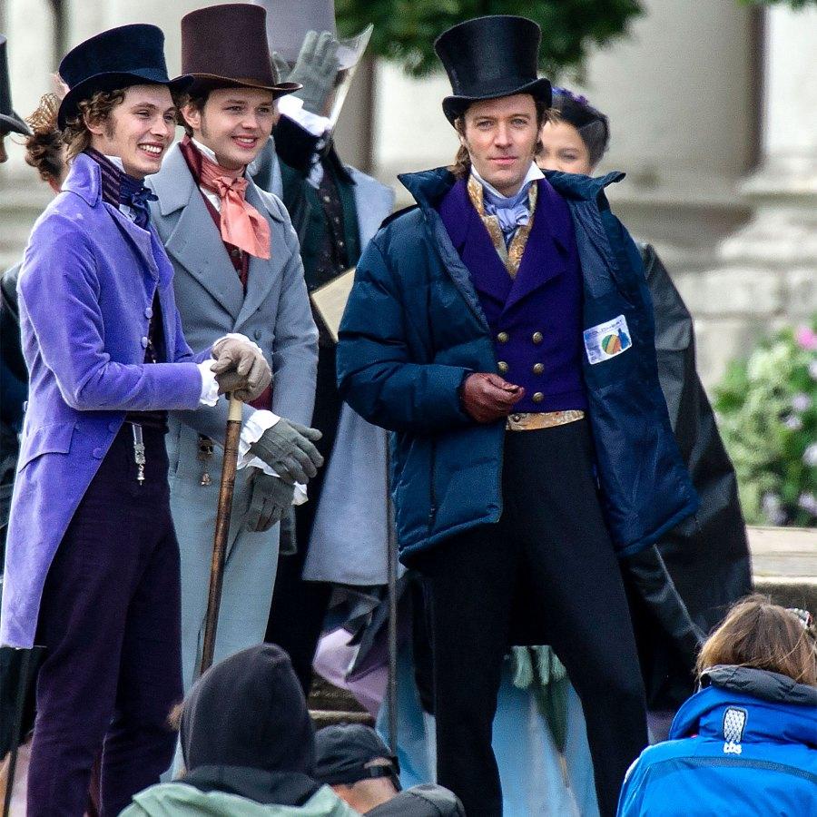 Its All Happening Bridgerton Cast Spotted Filming Season 2