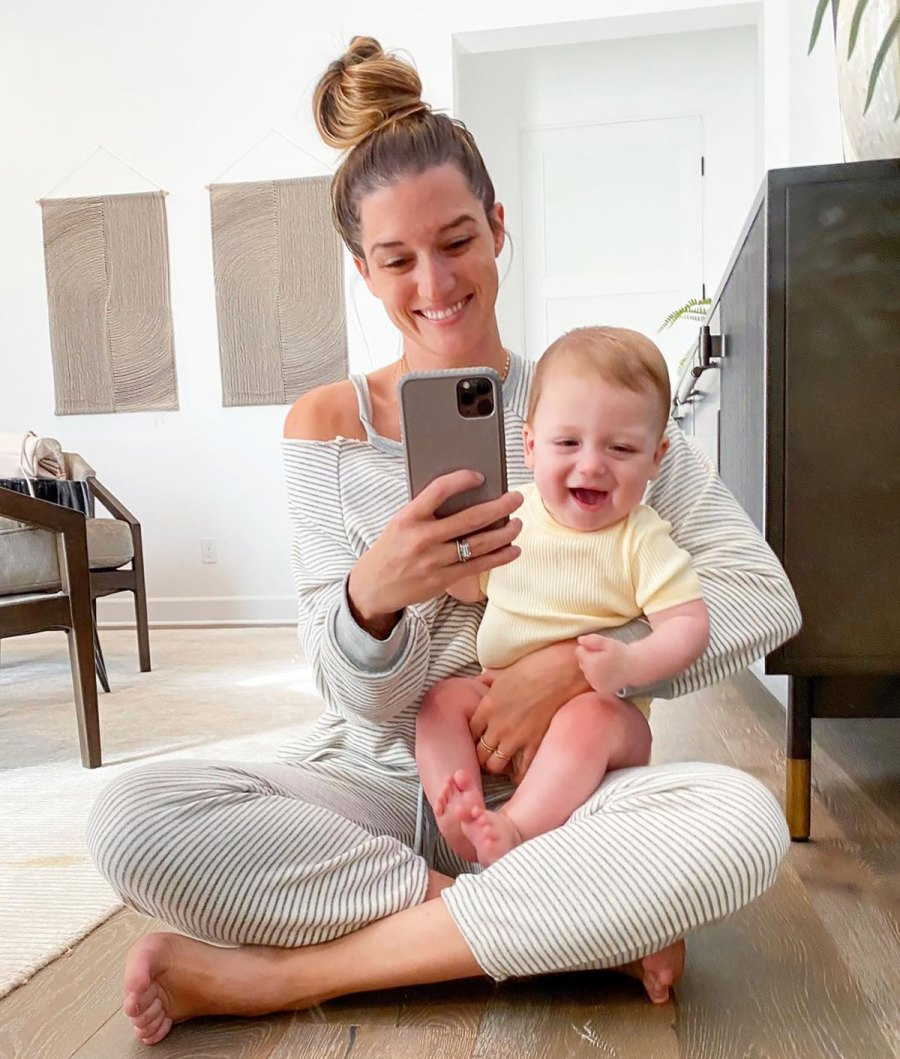 Jade Roper Defends Posting Less Pictures of Son Brooks: He's 'Loved and Adored'