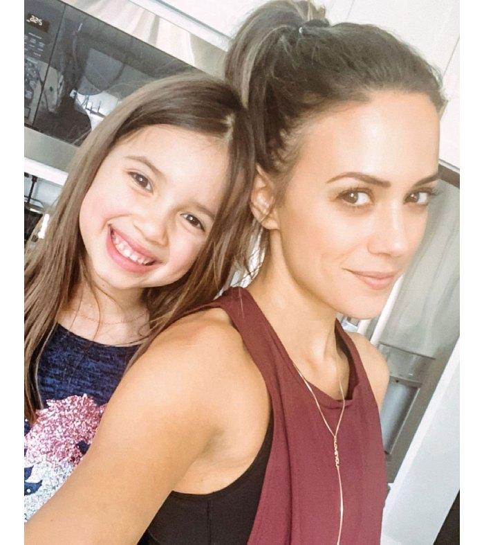 La hija de Jana Kramer, Jolie, sabe sobre la separación de Mike Caussin