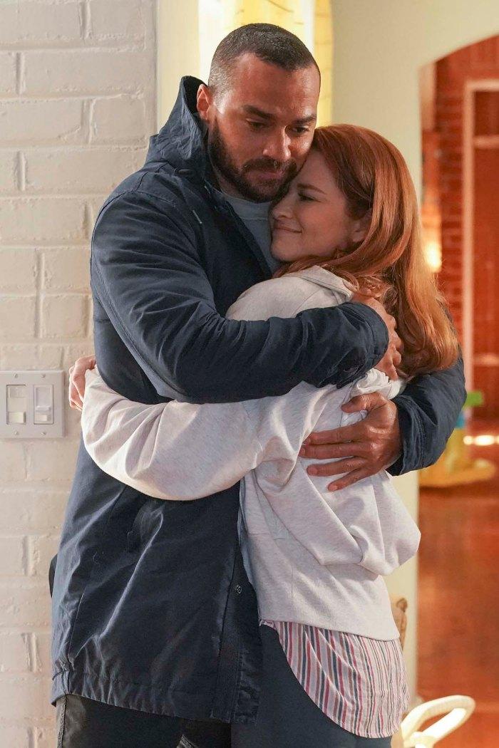 Japril Sarah Drew se burla de la serie derivada de Greys Anatomy con Jesse Williams