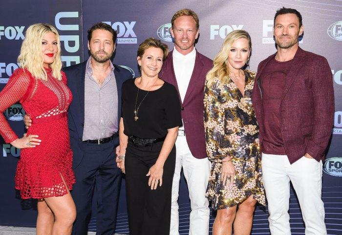 Jennie Garth: Me sentí 'amenazada' por otras mujeres debido a los '90210' Costars