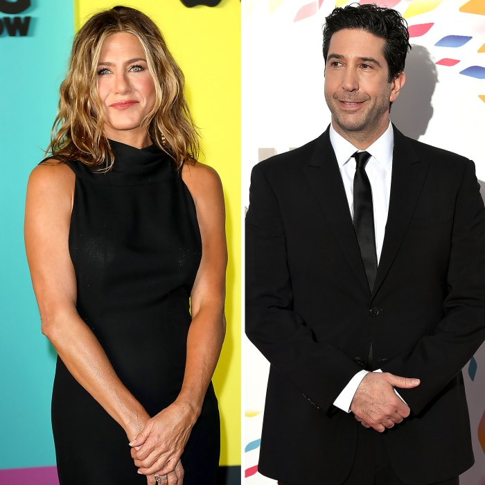Jennifer Aniston David Schwimmer Why We Never Hooked Up During Friends