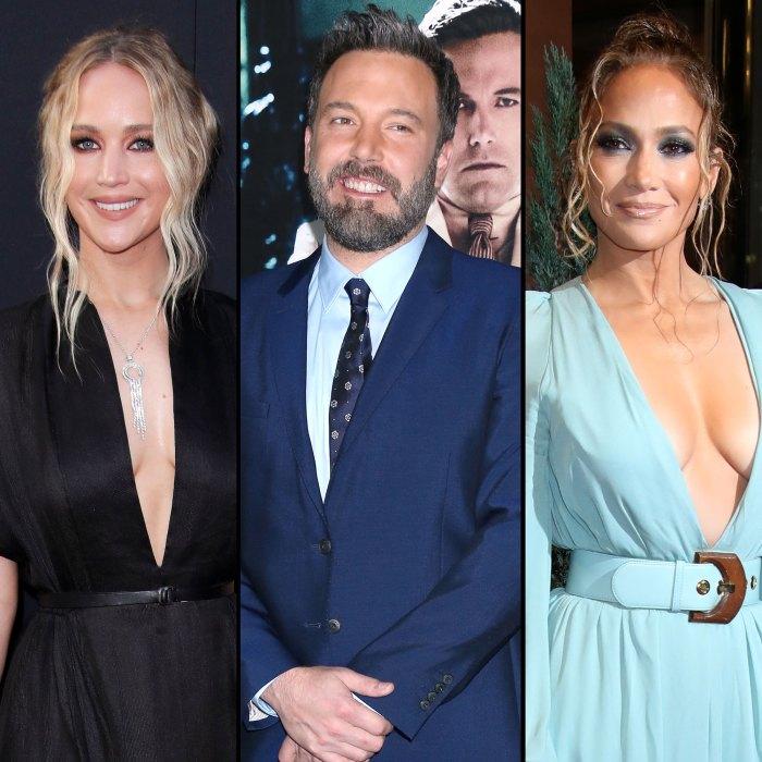 Jennifer Lawrence Can't Handle Ben Affleck and Jennifer Lopez Montana Reunion
