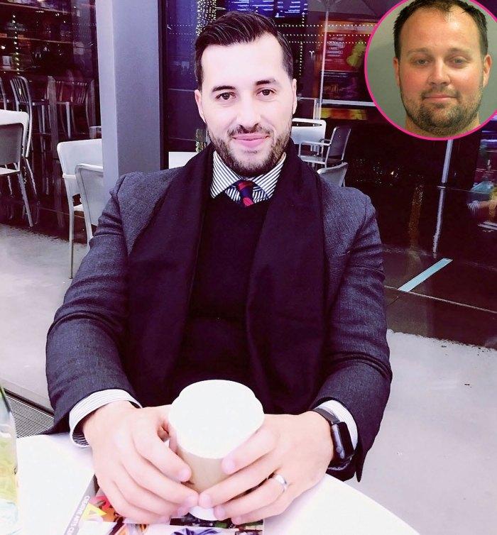 Jeremy Vuolo habla sobre el descubrimiento de detalles Josh Duggars reciente arresto